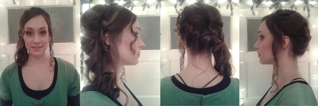 Historische Frisur&Make-up Special FX: Anna P.