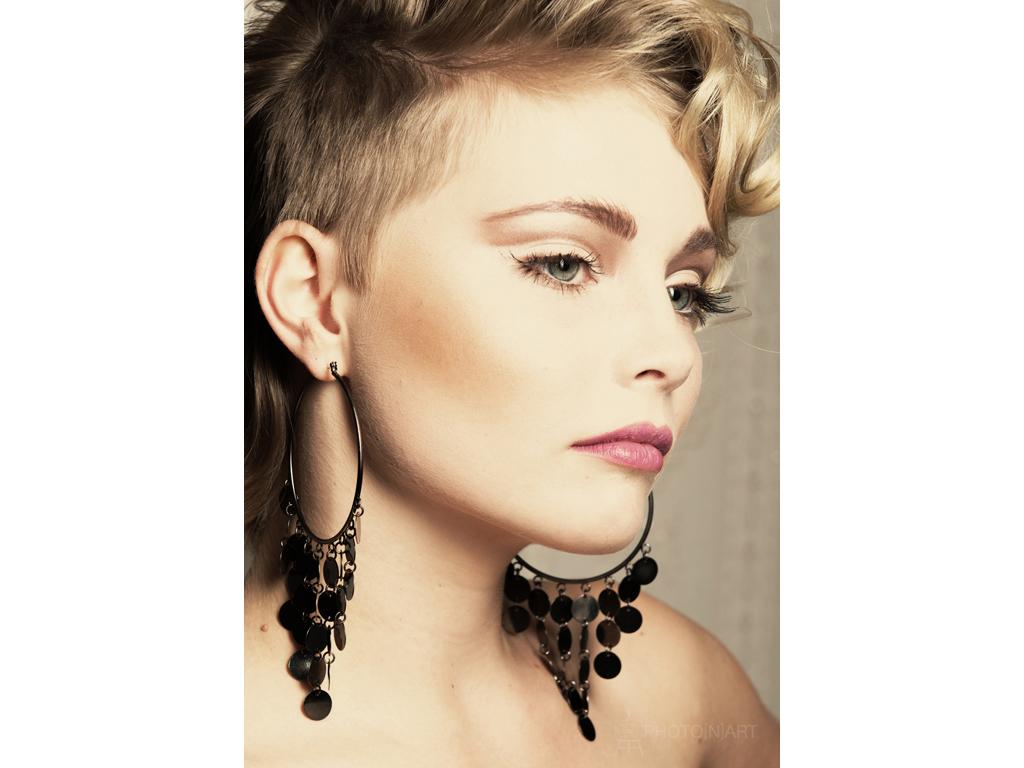 Fotograf: Mirko Thiele Hair&Make-up: Anna P. Model: Djamila Fristrup